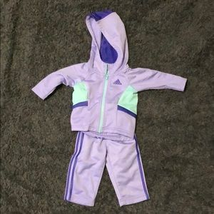 Adidas infant girl 3 months